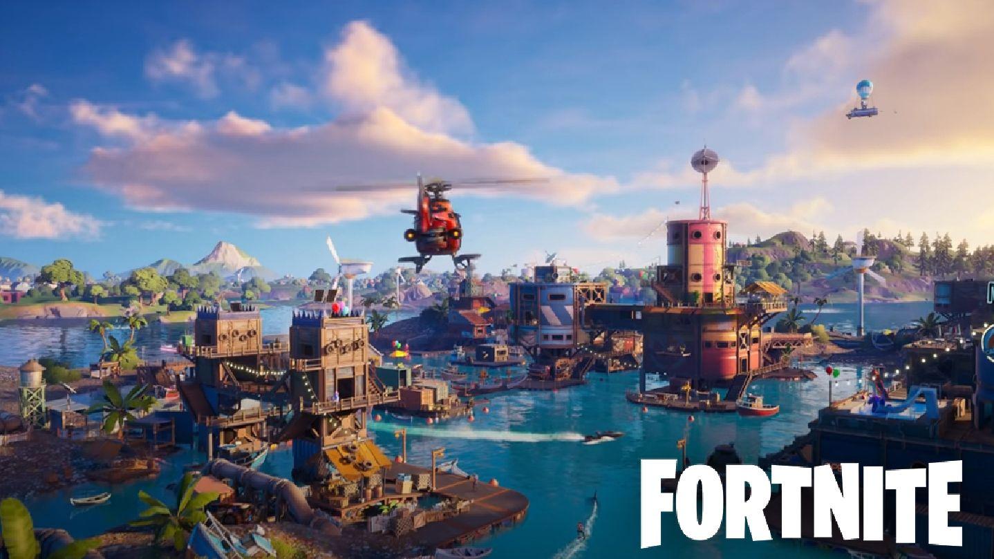 Epic Games Fortnite Saison 3 Chapitre 2