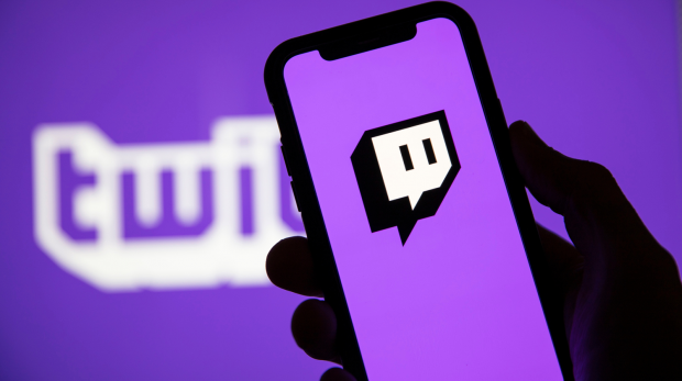 Twitch logo appli mobile