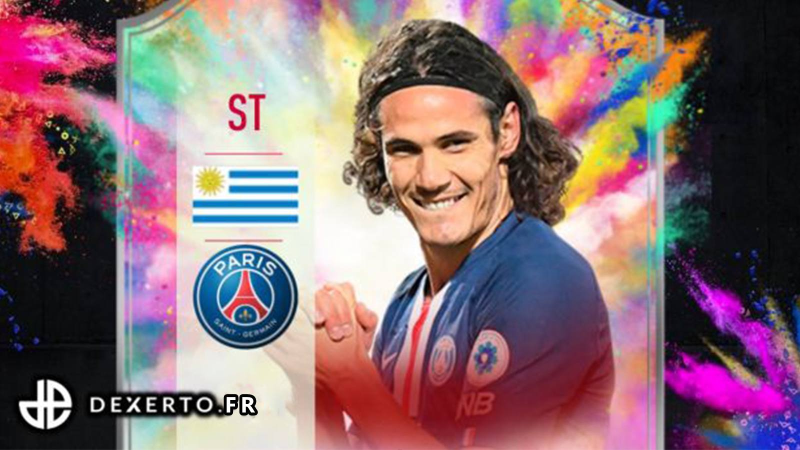 Carte Edinson Cavani Summer Heat sur FIFA 20
