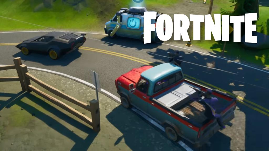 Les voitures pourraient bien faire leur apparition dans la saison 3 de Fortnite