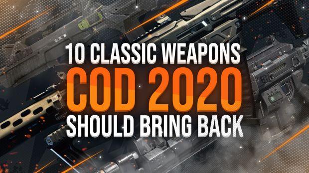 Call of Duty 2020 Treyarch 10 armes