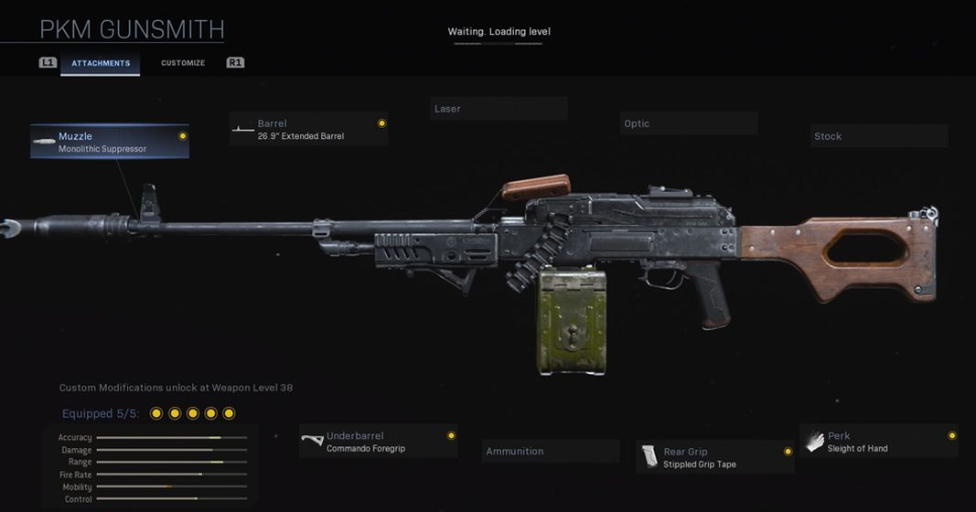 Call of Duty: Warzone PKM build Infinity Ward