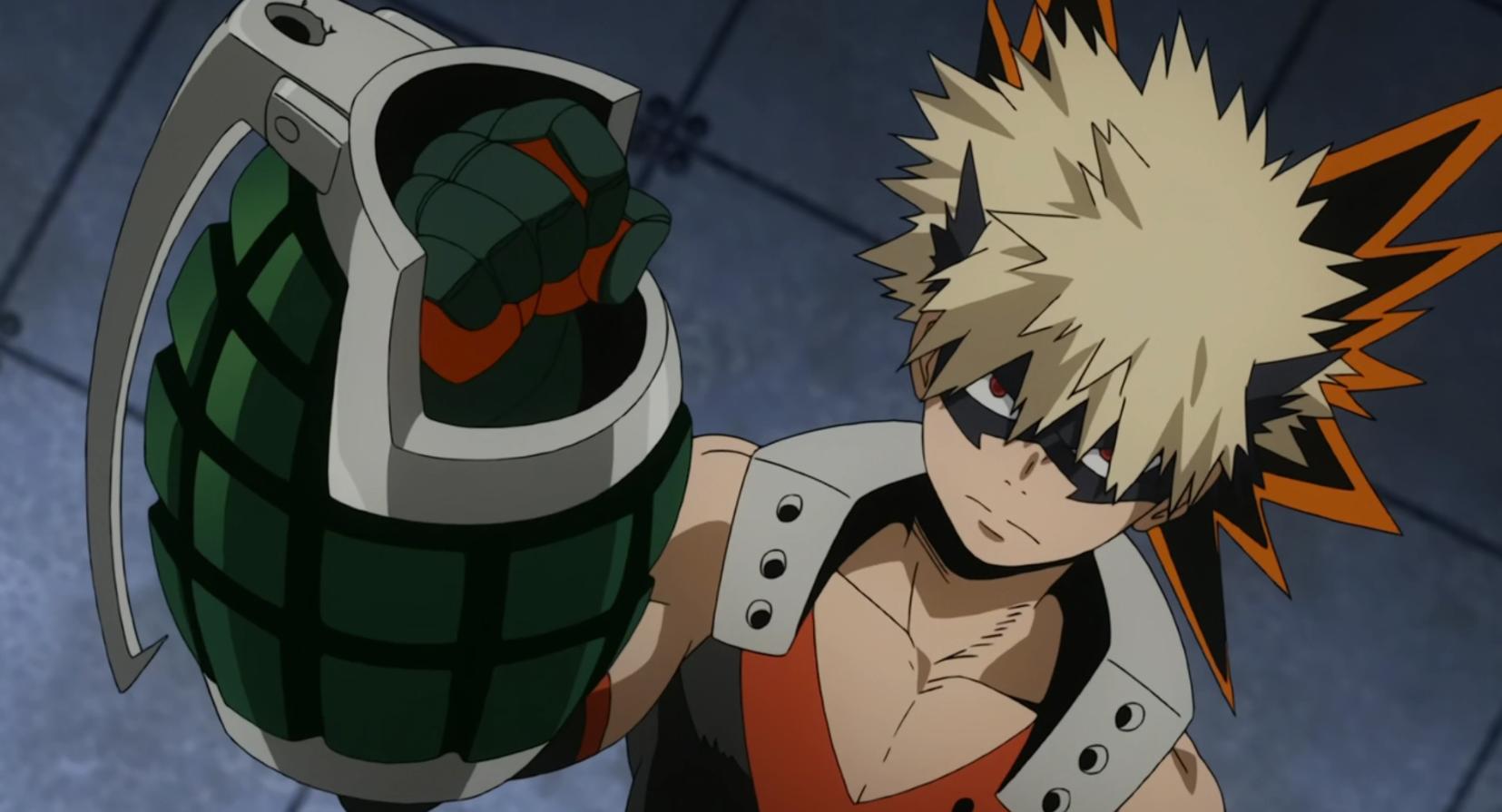 Bakugo est un personnage emblématique de My Hero Academia