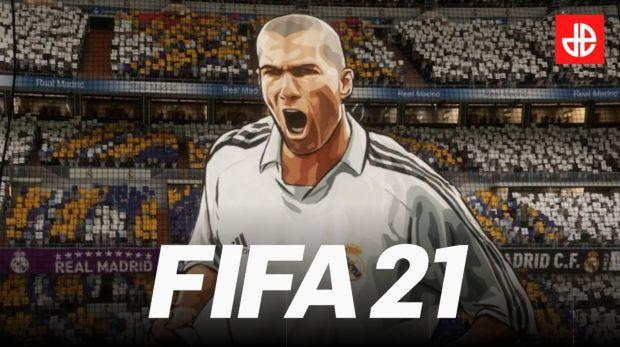 FIFA 21 EA SPORTS Zidane Real Madrid