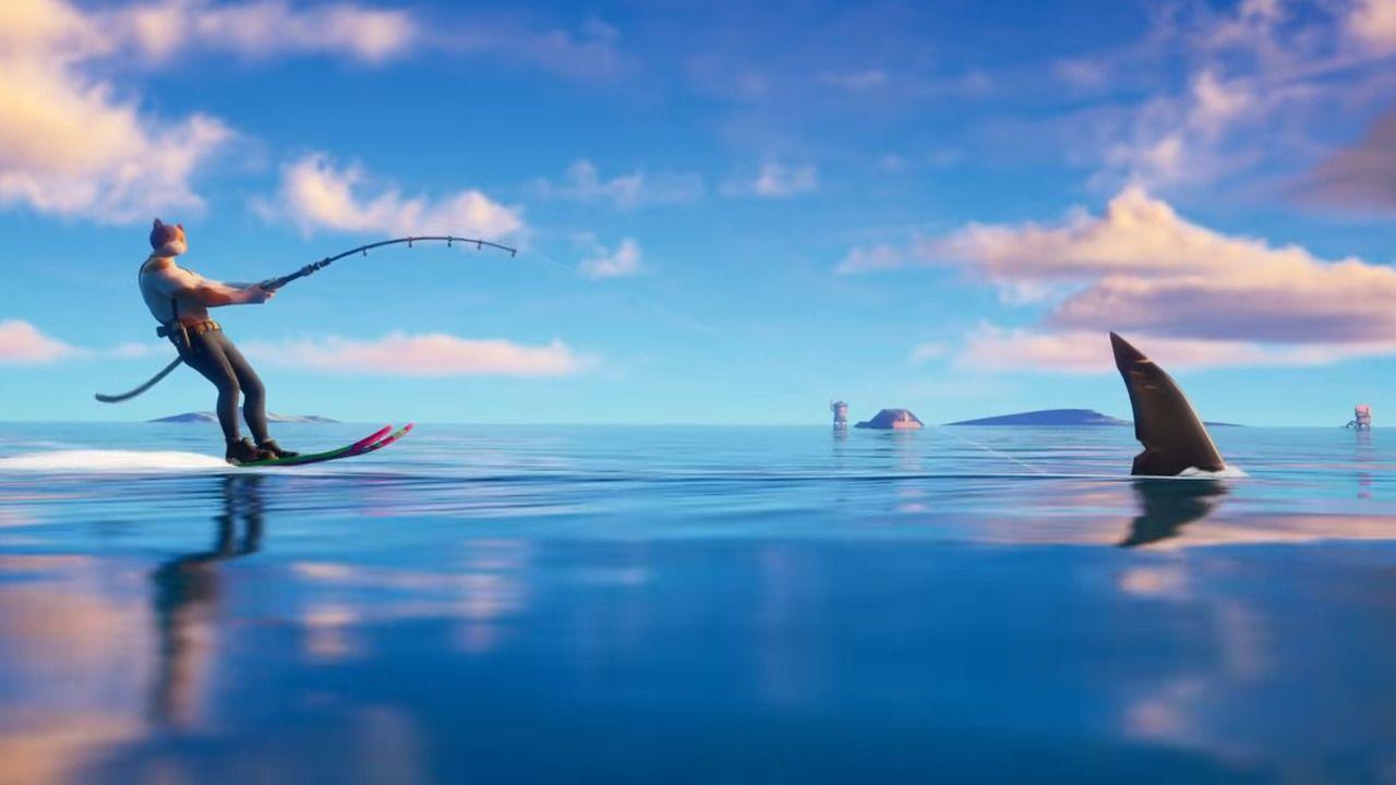 Les requins ont fait leur apparition dans la saison 3 de Fortnite