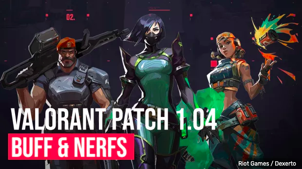 Patch notes 1.04 Valorant