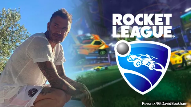 David Beckham / Rocket League