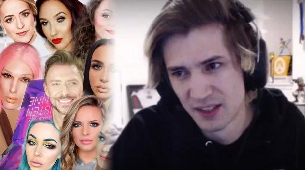 xQc s'en est pris aux youtubeurs beauté, jugeant qu'ils ont une personnalité de merde
