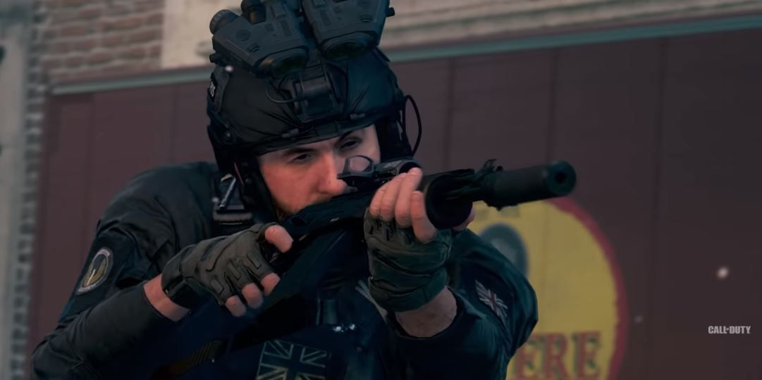 Call of Duty Capitaine Price yeux Infinity Ward