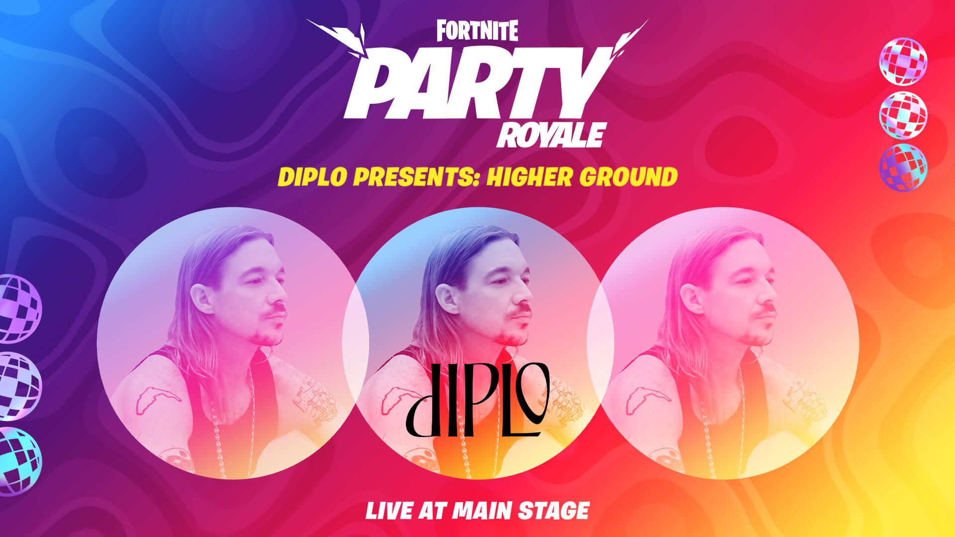 Diplo Higher Ground Fortnite Epic Games