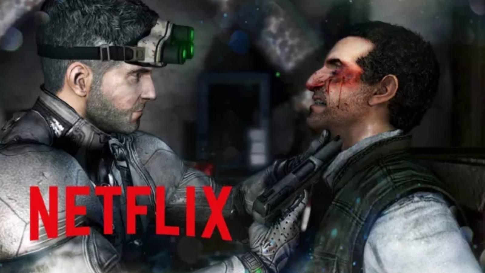 Série animée Splinter Cell sur Netflix