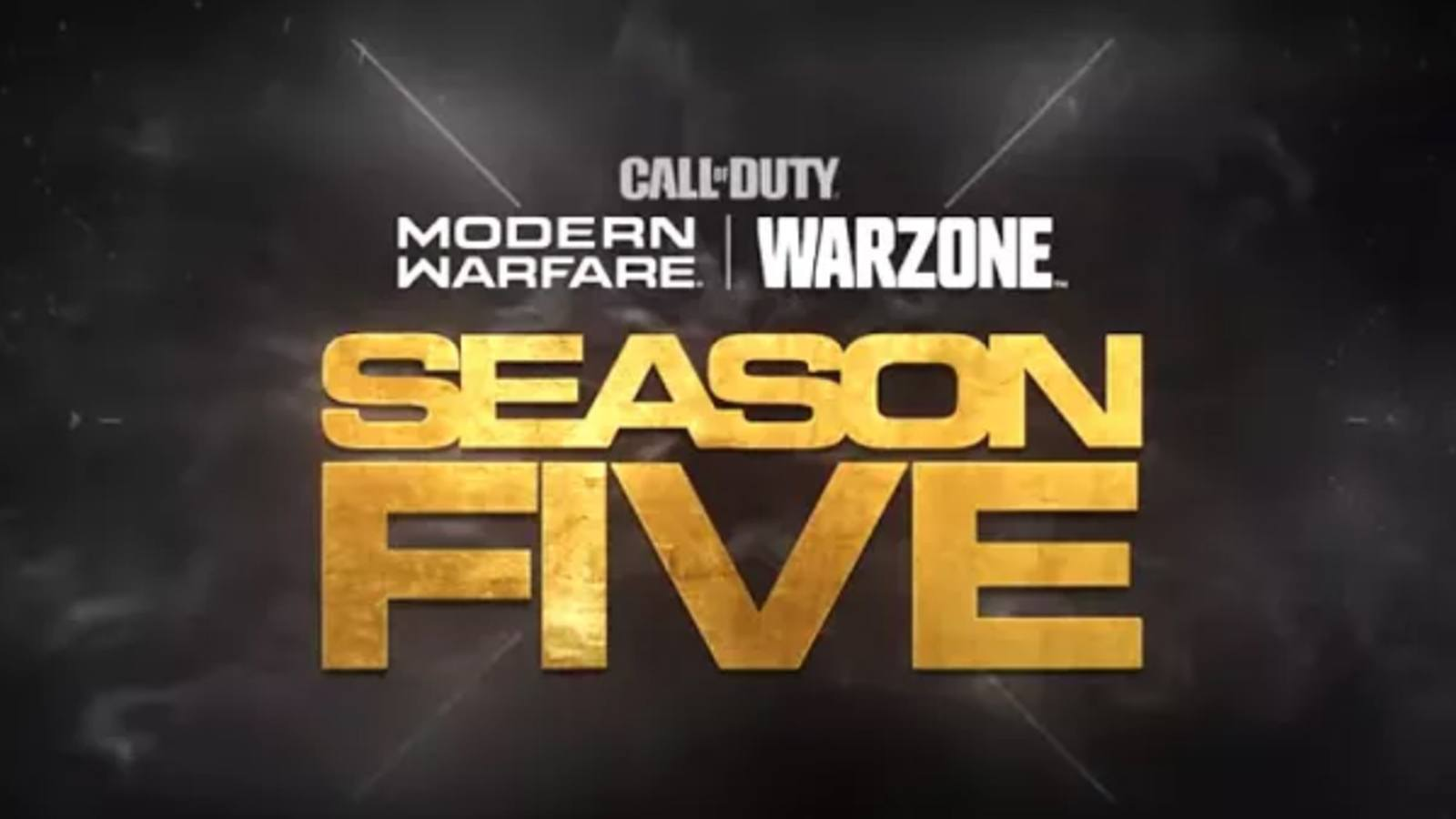 Saison 5 de Modern Warfare et Warzone