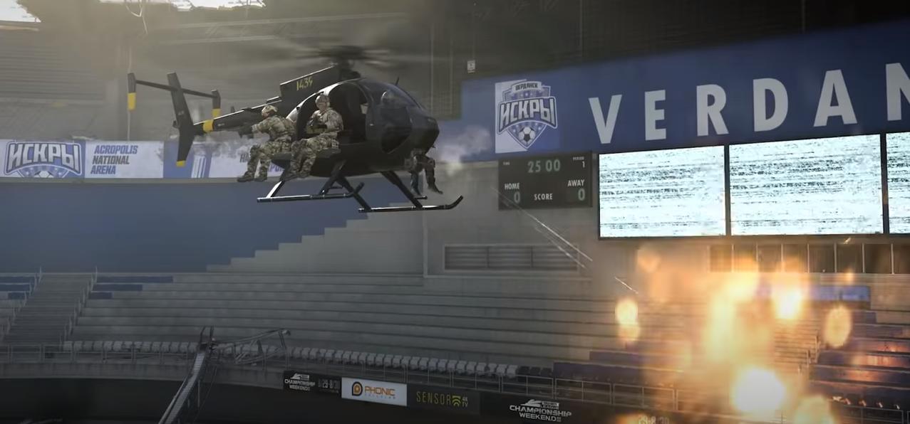 Saison 5 Modern Warfare Warzone Infinity Ward stade