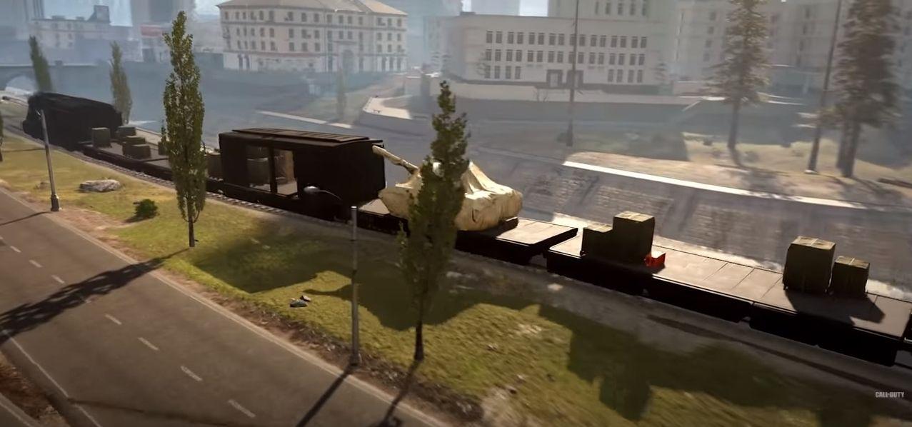 Saison 5 Modern Warfare Warzone Infinity Ward train