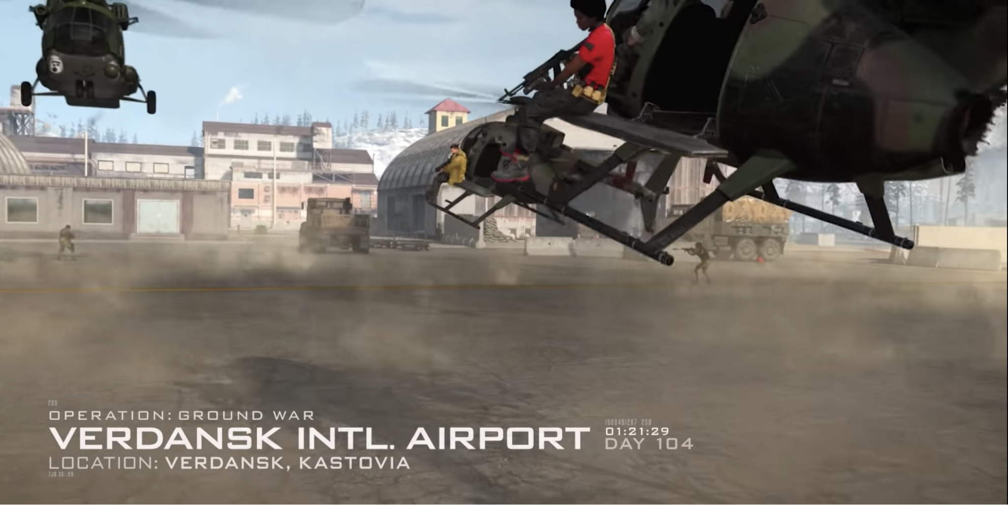 Saison 5 Modern Warfare Warzone Infinity Ward Verdansk Intl Airport