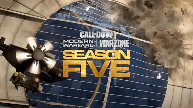 trailer saison 5 Modern Warfare Warzone Infinity Ward