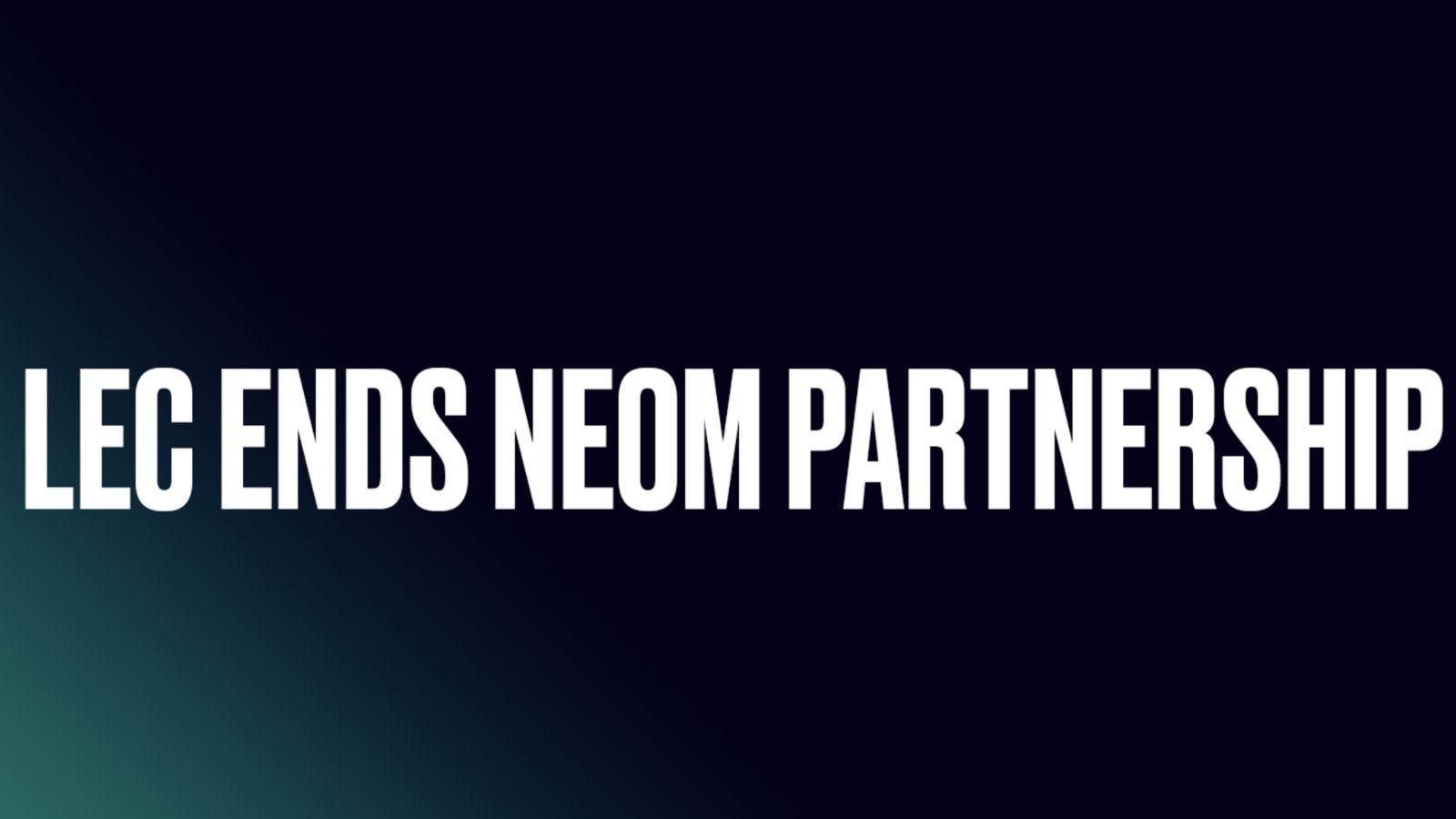 Riot Games annonce LEC NEOM