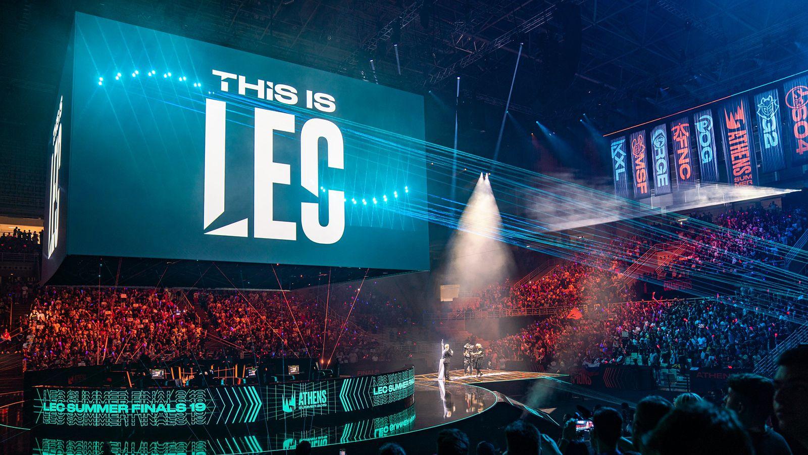 League of Legends LEC Riot Games