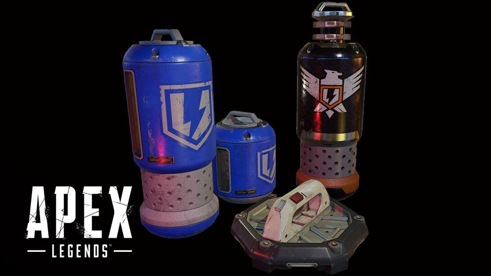 Apex Legends objets cellules bouclier kit phoenix