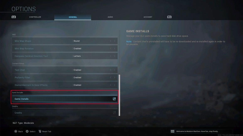 Voici la marche à suivre pour faire un peu de place dans vos fichiers Call of Duty