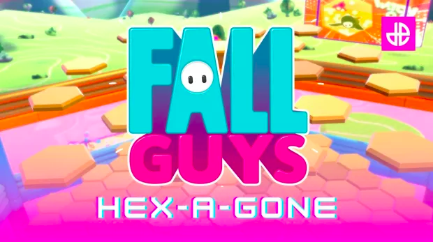 fall guys hexagone