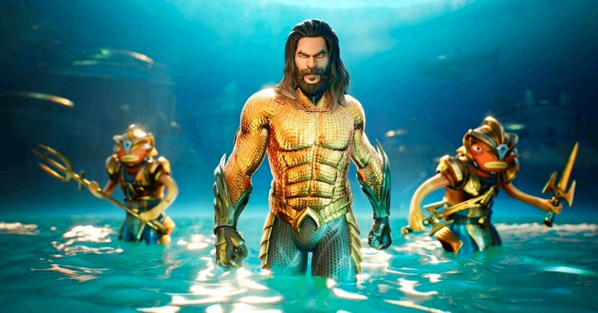Fortnite Aquaman Epic Games