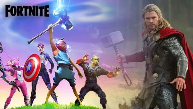 Un crossover avec Thor en perspective sur Fortnite ?
