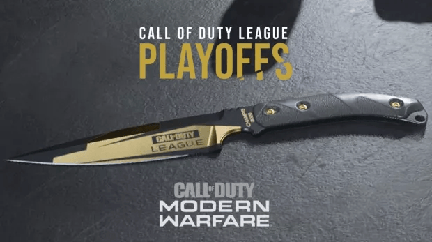 CDL Champs Playoffs Modern Warfare Infinity Ward couteau
