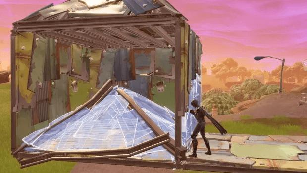 construction Fortnite box Pyramide Epic Games