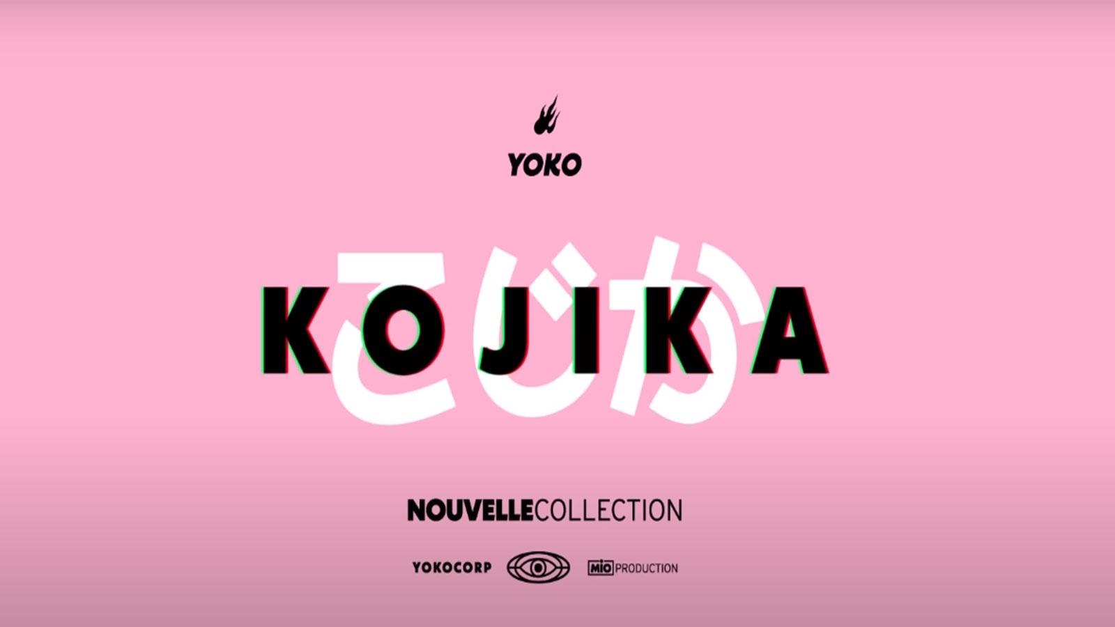 Squeezie a dévoilé sa nouvelle collection de vêtements, Kojika