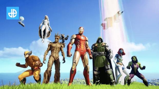 Fortnite héros Marvel Saison 4 trailer