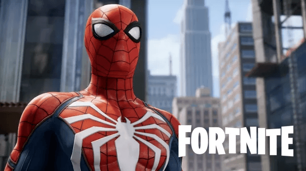 Sony Spider-Man | logo Fortnite