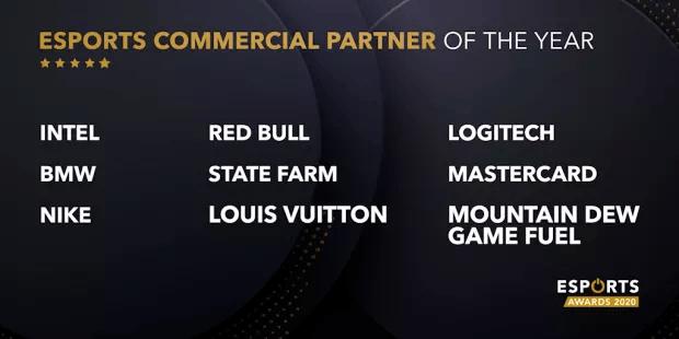 Esports Awards partenaire commercial