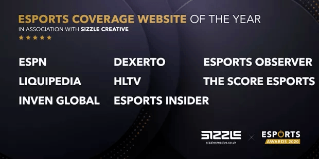 Esports Awards site web