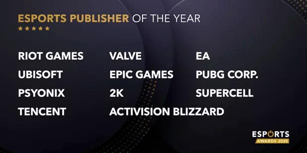 Esports Awards développeurs