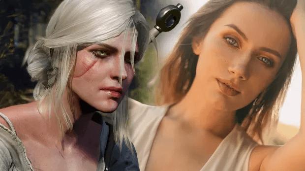 the witcher cosplay ciri