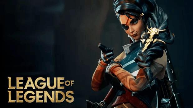 League of Legends Samira Riot Games