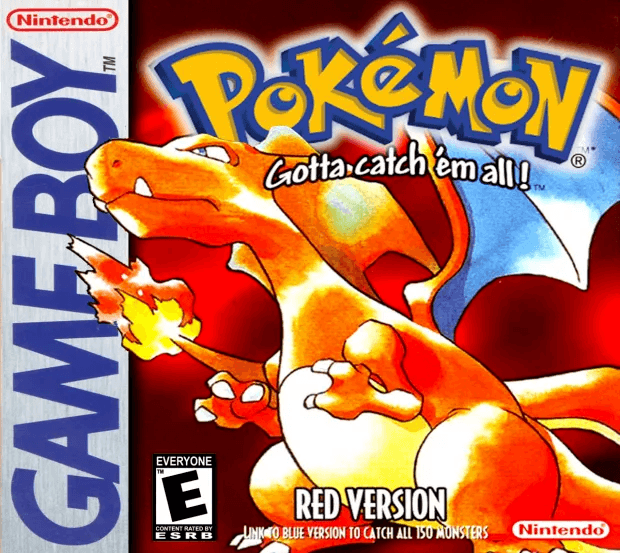 couverture Pokémon Rouge Pokémon Company