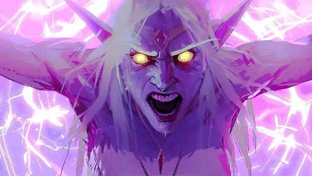 La reine Azshara est un personnage emblématique de World of Warcraft