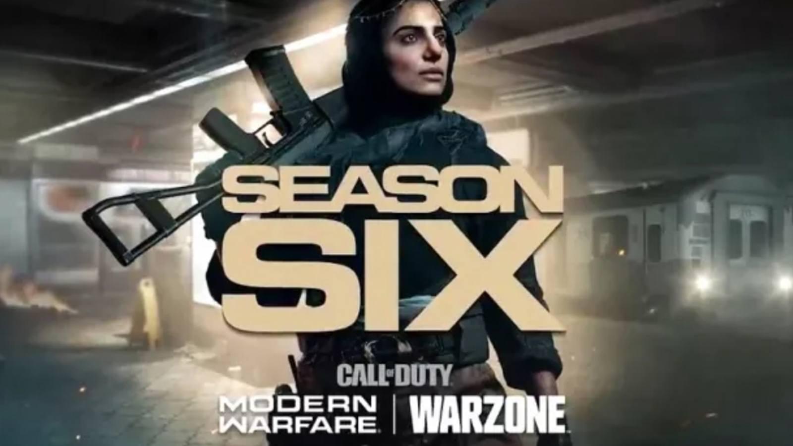 Saison 6 de Modern Warfare et Warzone