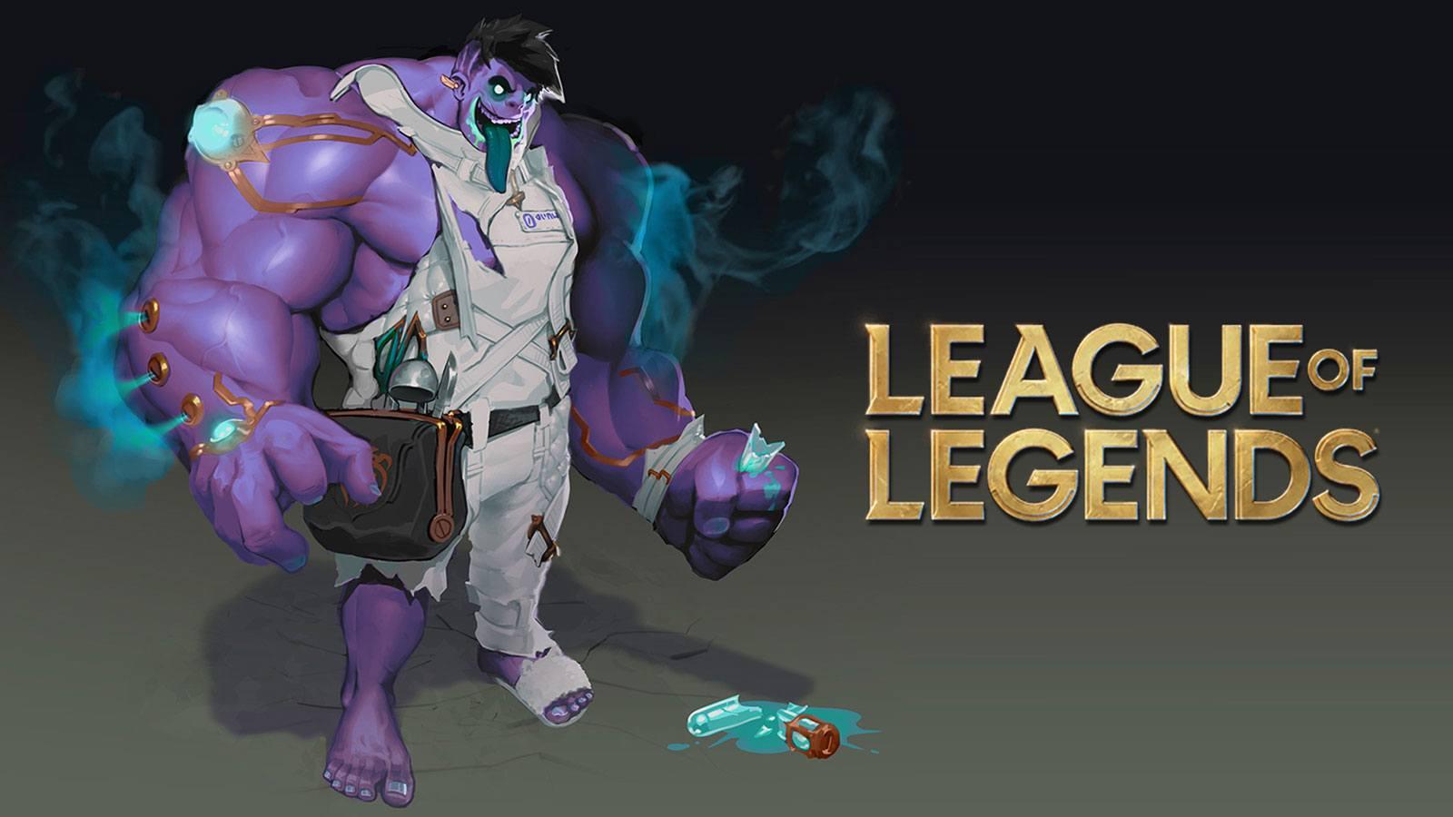 Refonte de Dr Mundo sur League of Legends