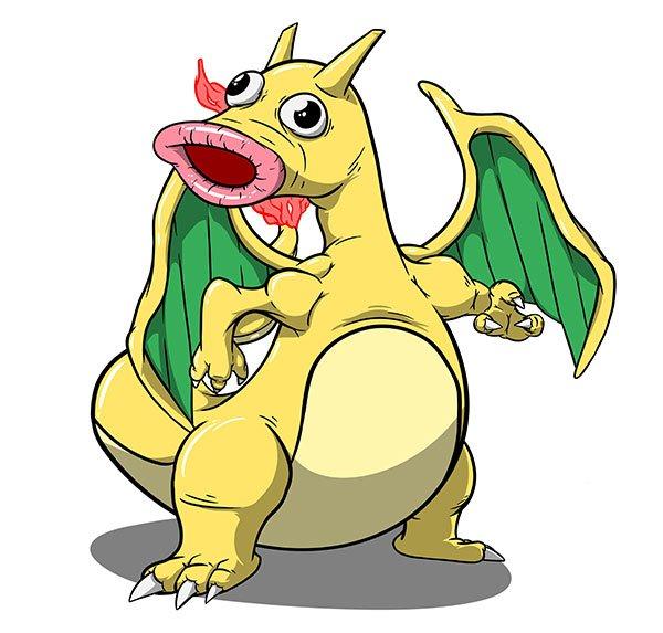 Fusion Dracolosse CHetiflor Pokémon
