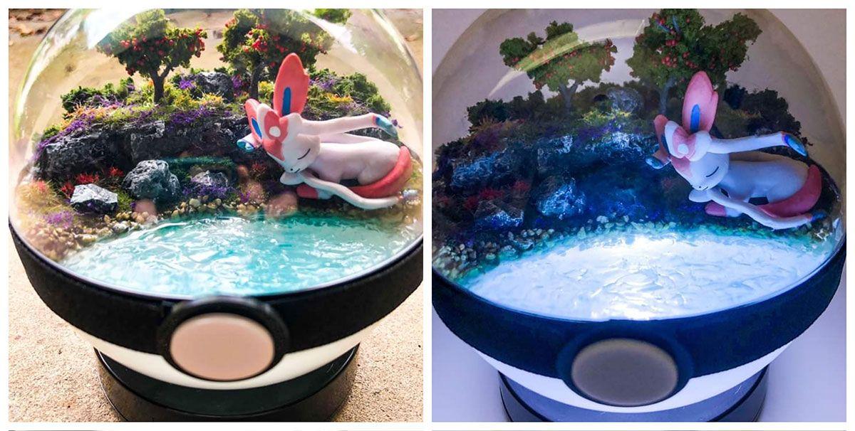 Un mini-terrarium Nymphali