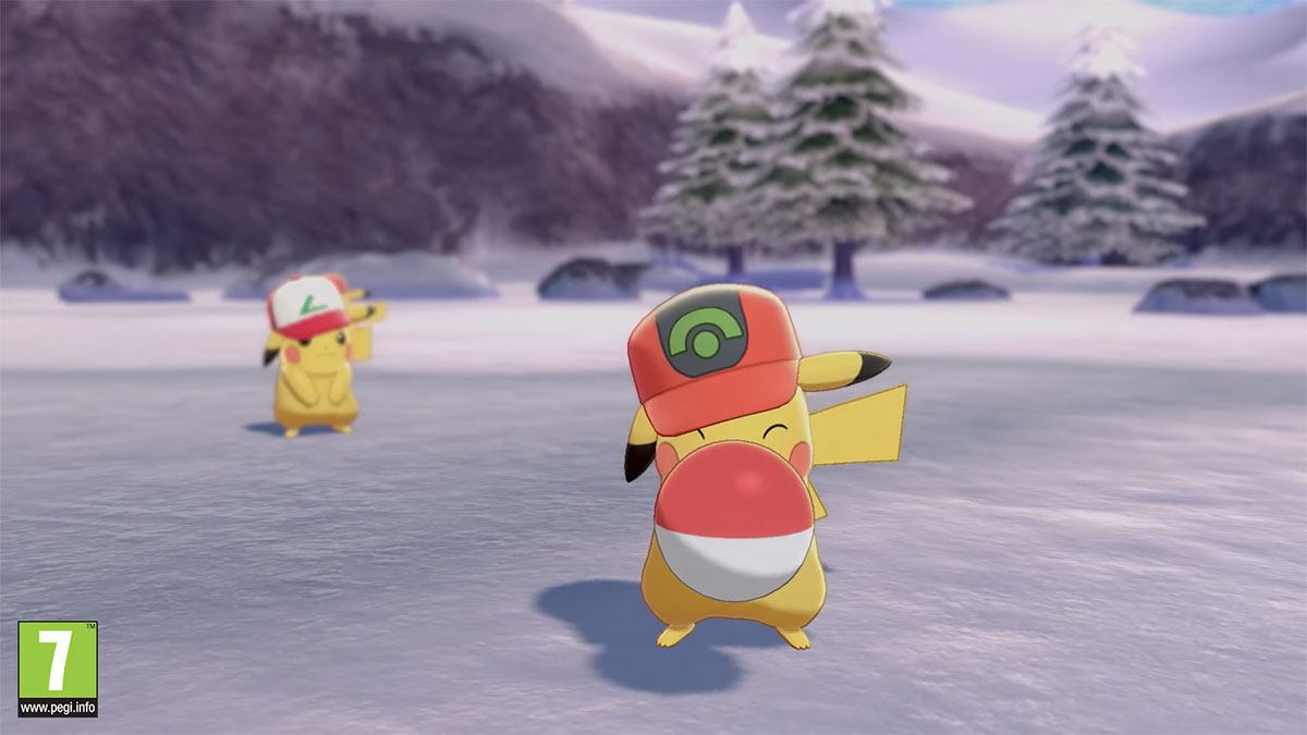Pikachu dans Pokémon Épée et Bouclier