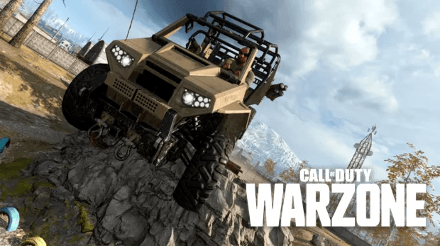 Call of Duty: Warzone jeep accident