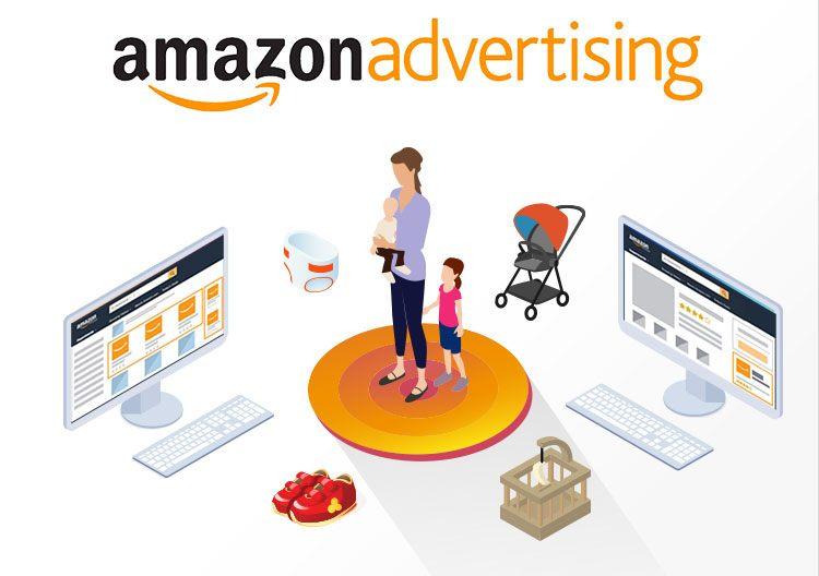 Publicité pour AMazon Advertising.