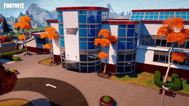 Fortnite Saison 4 Stark Industries Epic Games