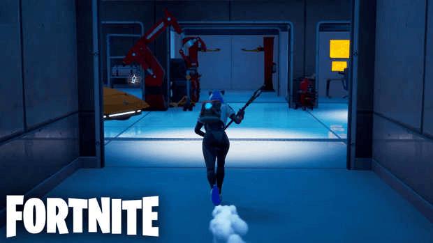 Fortnite laboratoire secret Tony Stark Epic Games