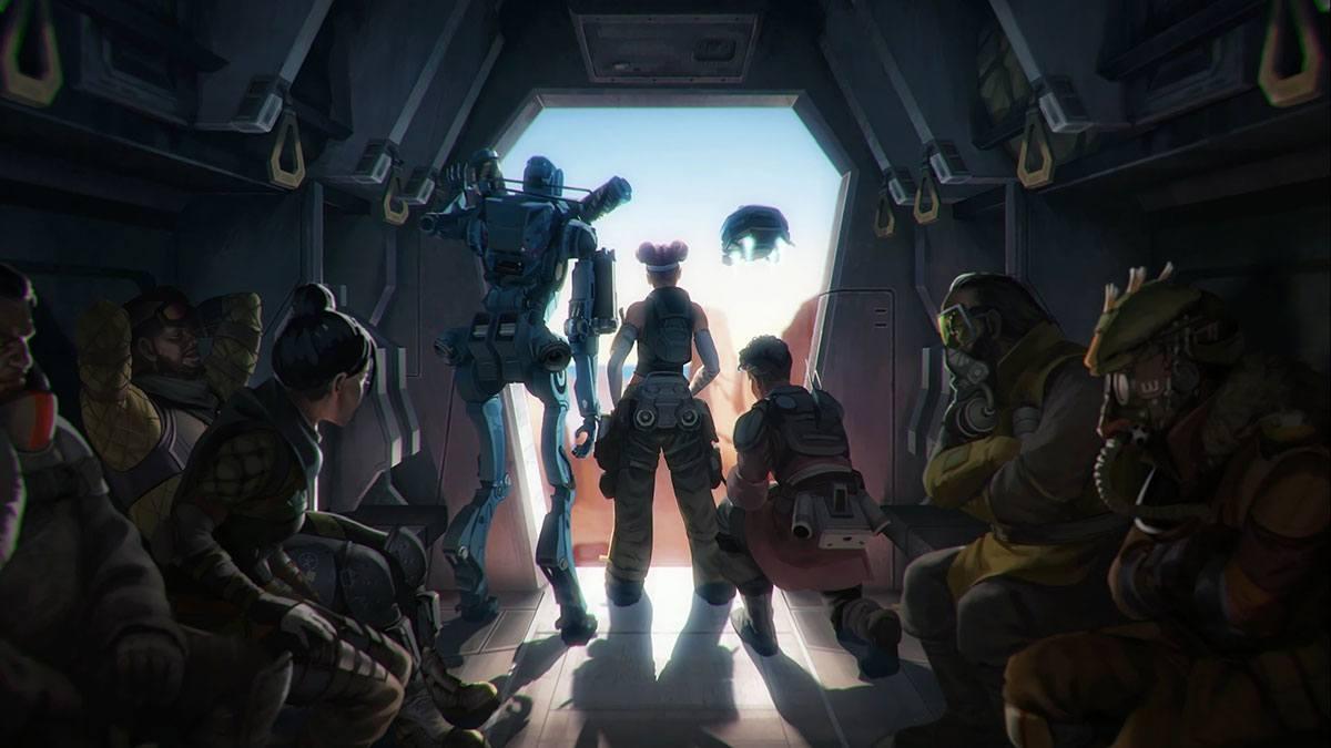 Artwork de tous les personnages d'Apex legends