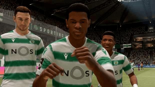FIFA 21 EA SPORTS jeunes espoirs Nuno Mendes